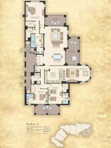 Madeira Floor Plans - Beachfront Condos on Marco Island